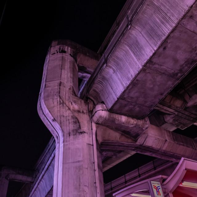"""Concrete structure - Bangkok"" stock image"