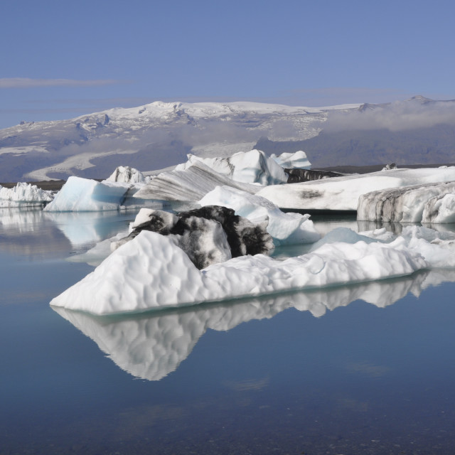 """Icelandic ice 2011"" stock image"