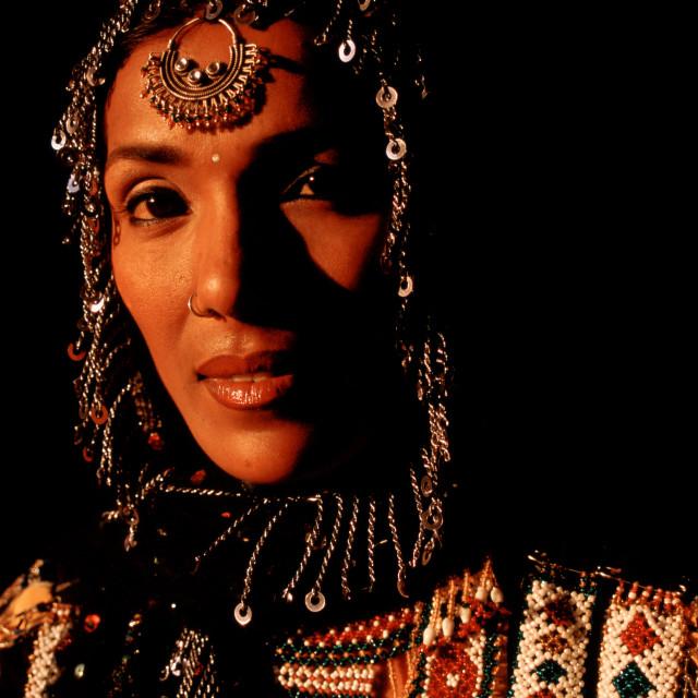 """Kalbeliya dancer ( India)"" stock image"