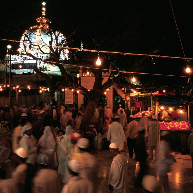 """Dargah sharif ( India)"" stock image"