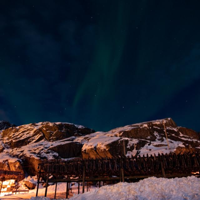 """""""Aurora Borealis"""" stock image"""