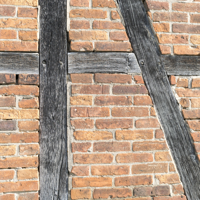 """half-timbered farmhouse"" stock image"
