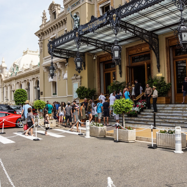 """""""MONTE CARLO - August 15 2017: The Casino of Monte Carlo January 31, 2009 in..."""" stock image"""