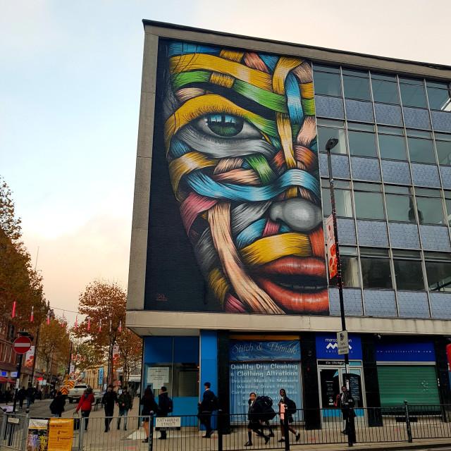 """""""Croydon art"""" stock image"""