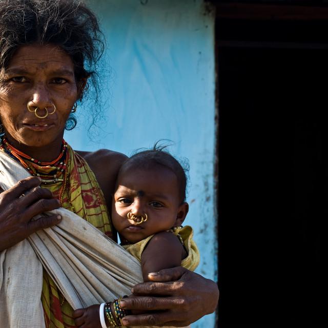 """""""Dongriya Khond ( India)"""" stock image"""