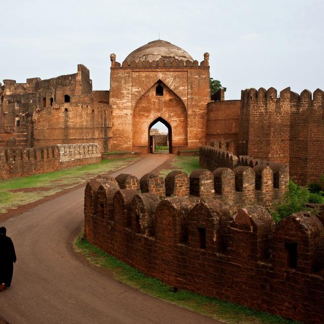 """""""Bidar fort ( India)"""" stock image"""