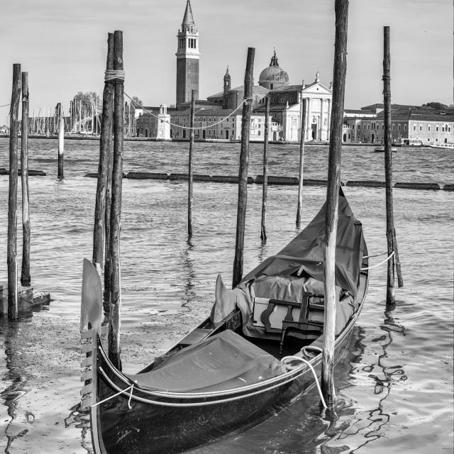 """""""gondola in venice in italy"""" stock image"""