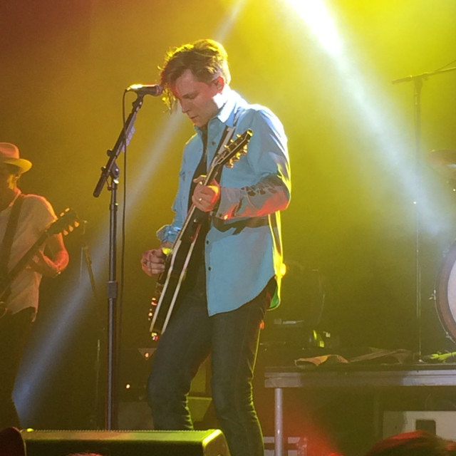 """Frankie Ballard puts on one hell of a show"" stock image"