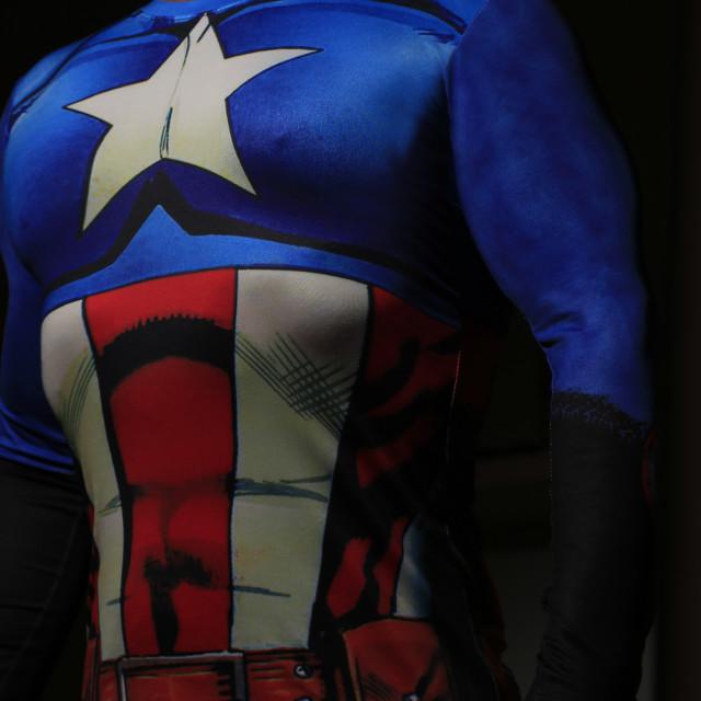 """Super Hero"" stock image"