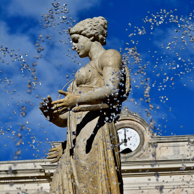 """Diana's fountain"" stock image"