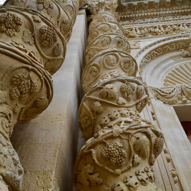 """""""Sicilian baroque"""" stock image"""