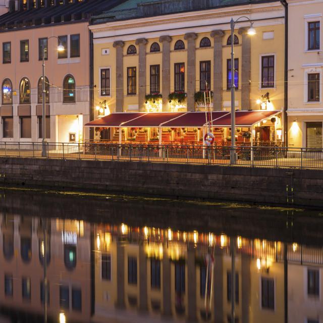 """Panorama of Gothenburg"" stock image"