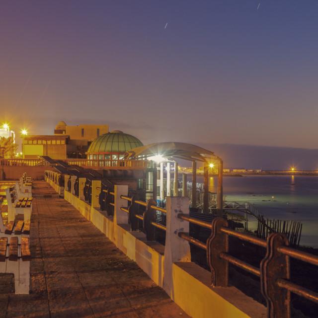 """""""Corniche in Dakhla"""" stock image"""