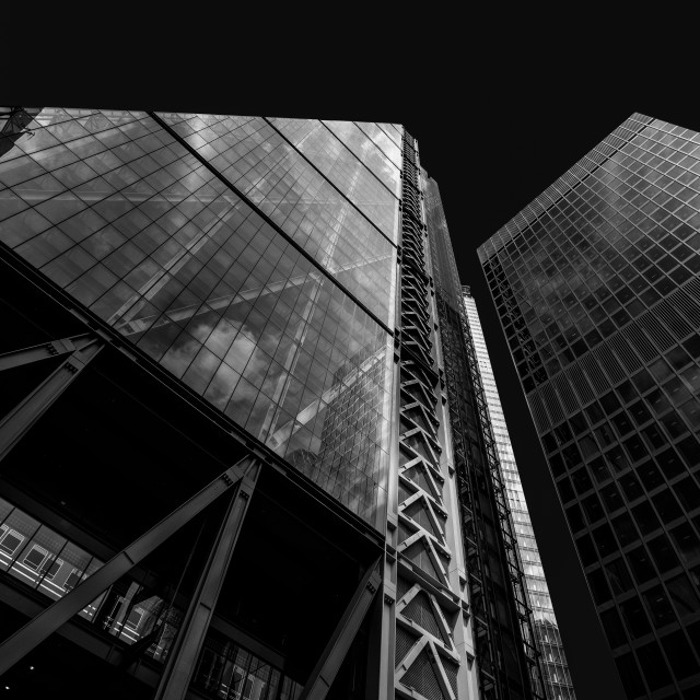 """Cheesegrater Building London"" stock image"
