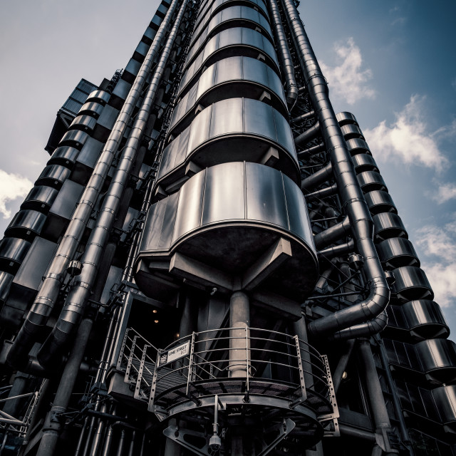 """Lloyds Building in London"" stock image"