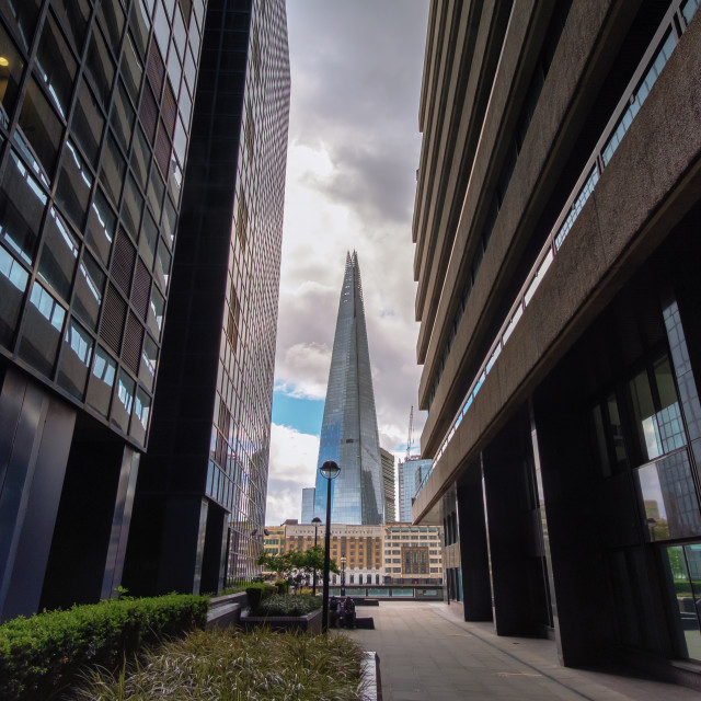 """The Shard in London"" stock image"