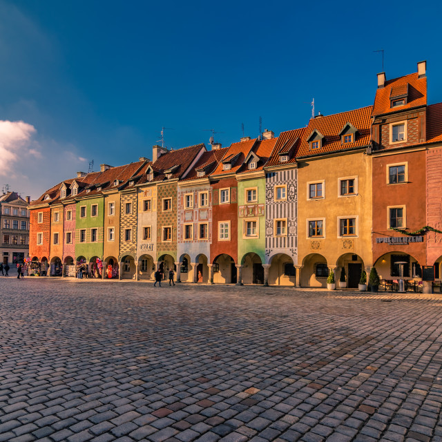 """Sunrise in Poznan"" stock image"