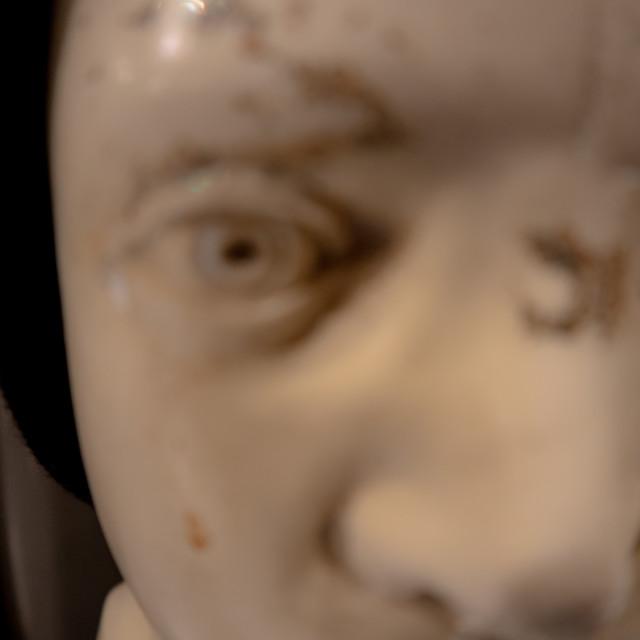 """Phrenology Statue"" stock image"