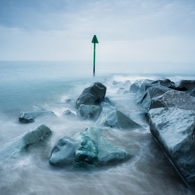 """""""Moody seascapes"""" stock image"""