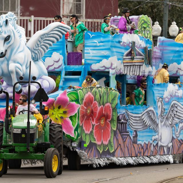 """Mardi Gras Parade New Orleans"" stock image"
