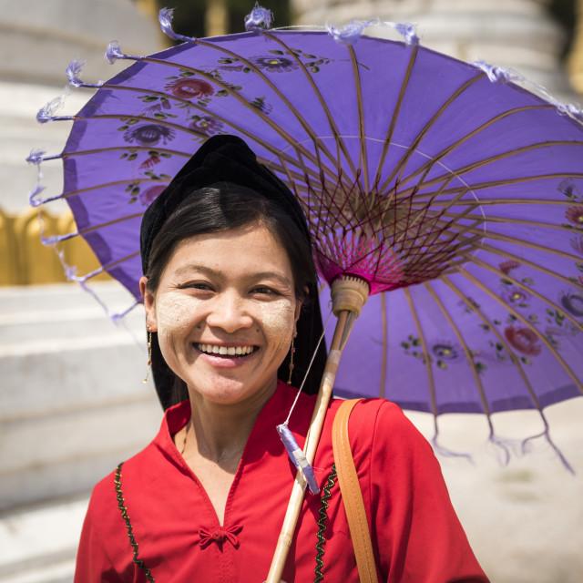 """Pindaya Cave Festival, Pindaya, Shan State, Myanmar (Burma)"" stock image"