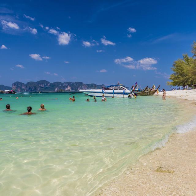"""Poda Island in Ao Nang, Krabi, Thailand, Southeast Asia, Asia."" stock image"