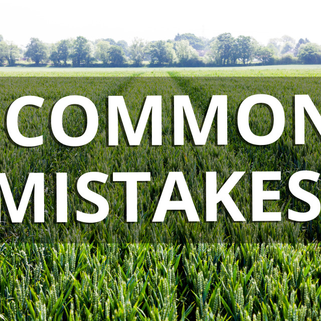 """""""Handwriting text Common Mistakes question. Concept meaning repeat act or..."""" stock image"""