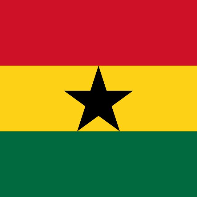 """""""Flag of Ghana"""" stock image"""