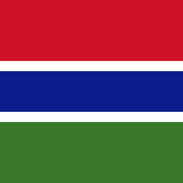 """""""Flag of The Gambia"""" stock image"""