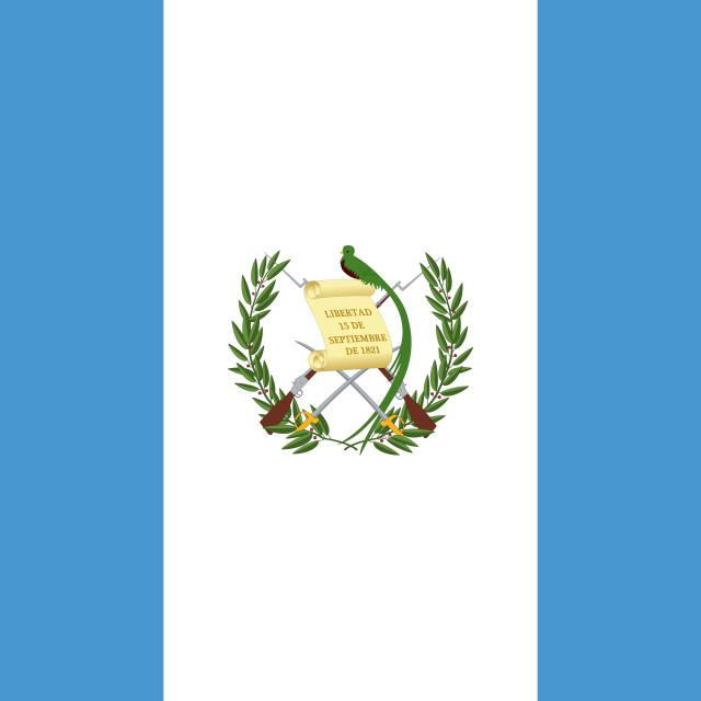 """""""Flag of Guatemala"""" stock image"""