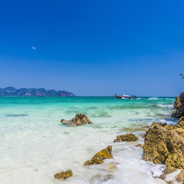"""Tup Island in Ao Nang, Krabi, Thailand, Southeast Asia, Asia."" stock image"