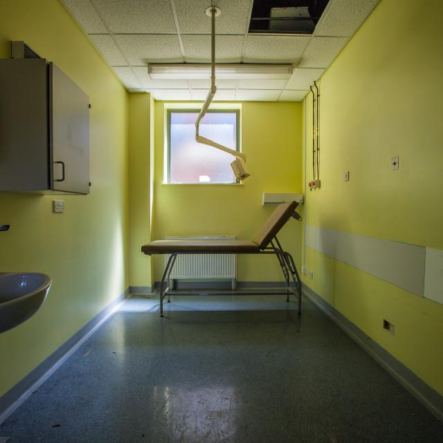 """""""Abandoned Hospital"""" stock image"""