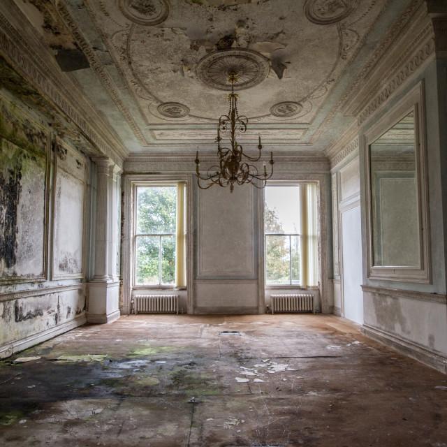 """""""Abandoned manor"""" stock image"""