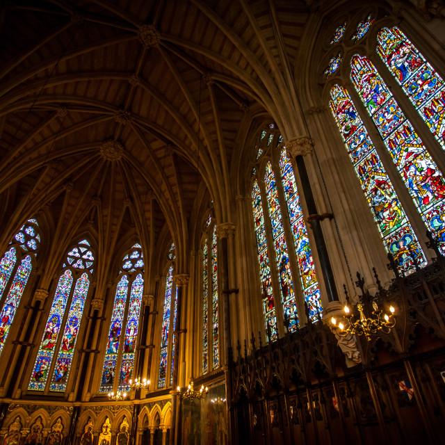 """Oxford University Chapel"" stock image"
