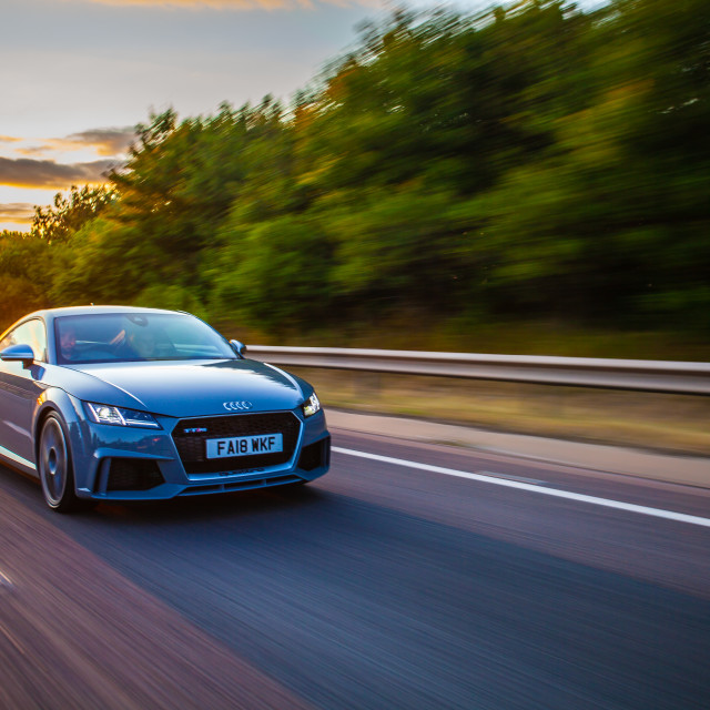 """Audi TTRS"" stock image"