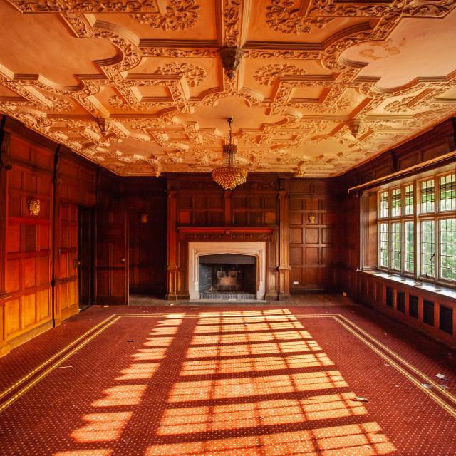 """""""Abandoned Hotel"""" stock image"""