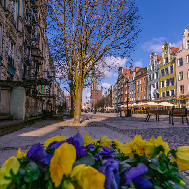 """Spring in Gdansk"" stock image"