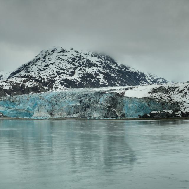 """""""Glacier Bay - Alaska"""" stock image"""