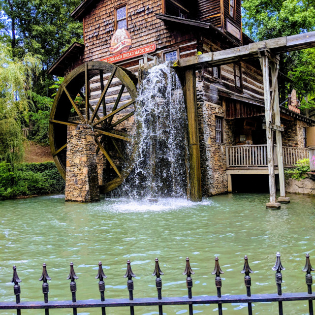 """Water Mill"" stock image"