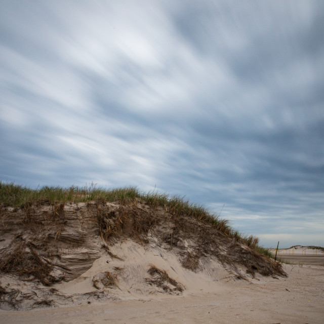 """Deserted Beaches At Long Island, New York"" stock image"