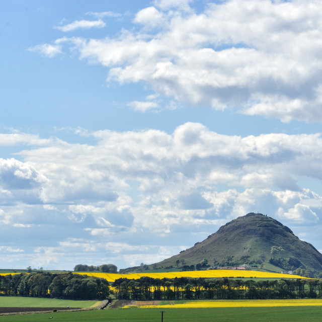 """North Berwick Law, North Berwick, Scotland."" stock image"
