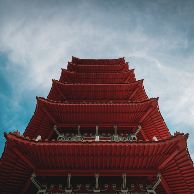 """Lookup Pagoda"" stock image"