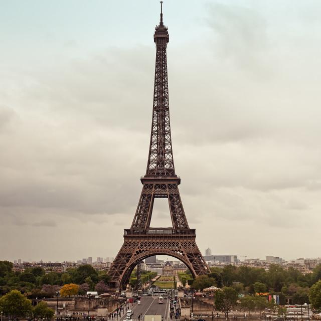 """""""Rainy Day In Paris"""" stock image"""