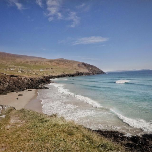 """Irish Summer | Coumeenole Beach"" stock image"