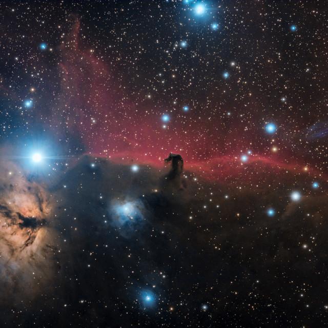 """Horsehead Nebula"" stock image"