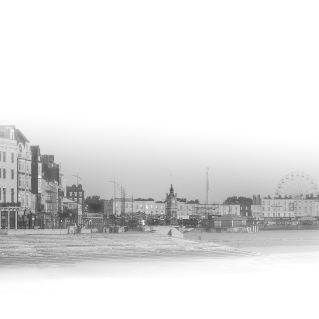 """""""Margate Seafront"""" stock image"""