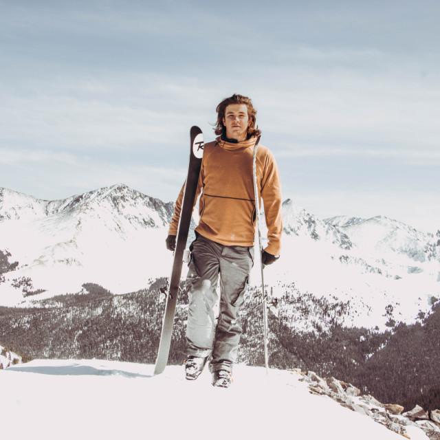 """scenic skiing"" stock image"