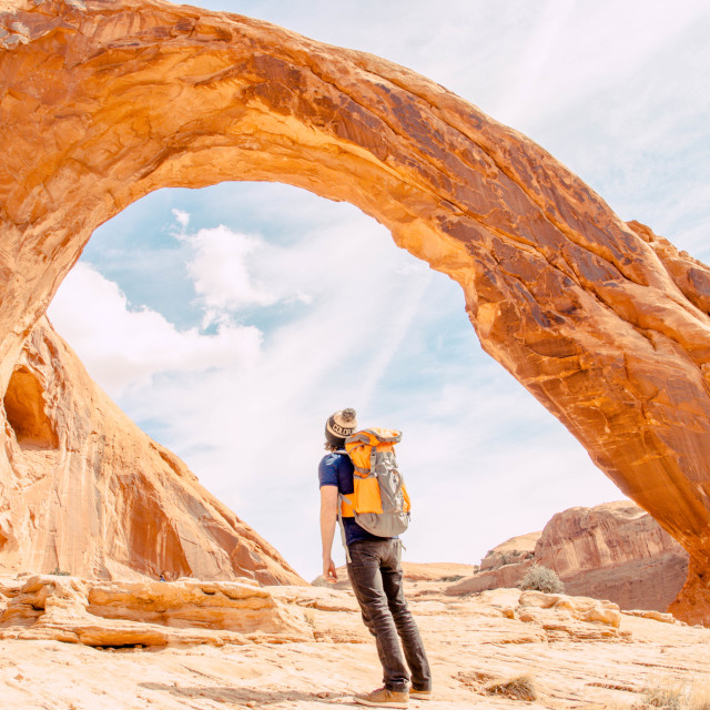 """""""Moab Arch"""" stock image"""