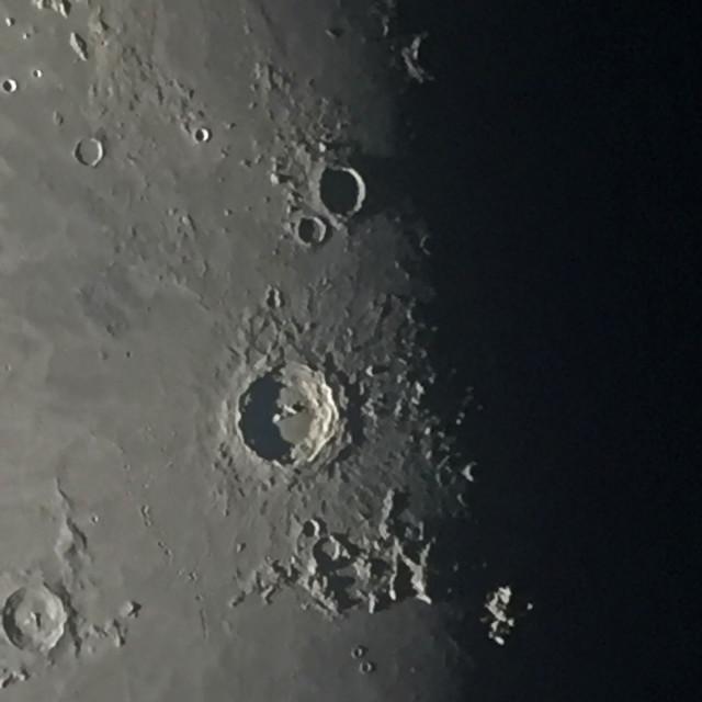 """""""Close crater shot"""" stock image"""