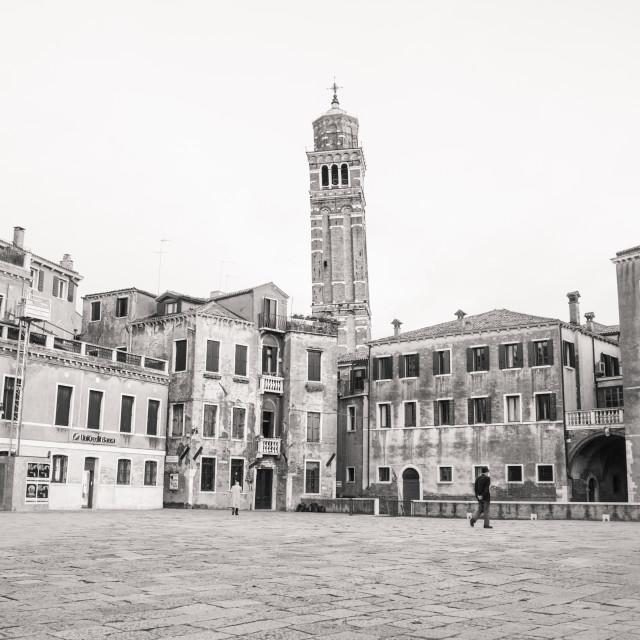 """""""Campo Sant'Anzolo - Venice"""" stock image"""